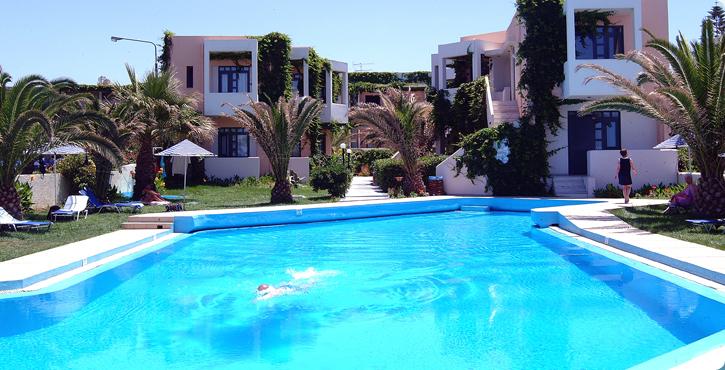 Eva Bay Hotel Rethymno Crete Rethymno Hotels Accommodation